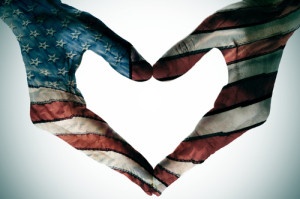 america in the heart