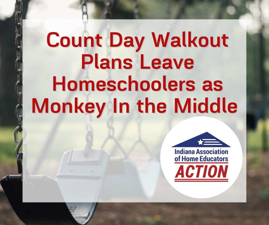Count Day Walkout Plans Leave Homeschoolers as Monkey In the Middle